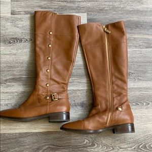Michael Kors leather high boots